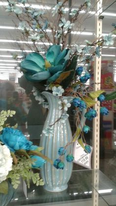 Contemporary arrangement by Rhonda Fake Flower Centerpieces, Orchid Flower Arrangements, Large Floral Arrangements, Beautiful Flower Arrangements, Centrepieces, Flower Decorations, Easter Flowers, Fake Flowers, Fruit Sculptures