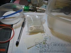 Stamping and Stuff: Beaded Pen Tutorial