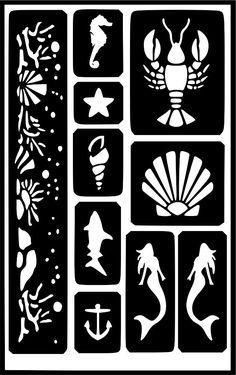 Henna Temporary Tattoo Body Art Sticker Glitter Stencil, - My best tattoo list Stencil Stickers, Cricut Stencils, Stencil Art, Diy Tattoo, Henna Tattoo Designs, Glitter Tattoo Stencils, Henna Stencils, Small Tattoos With Meaning, Cute Small Tattoos
