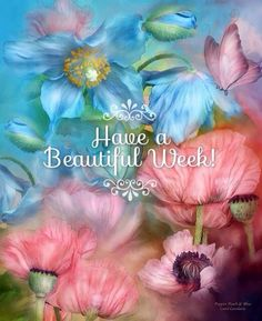 Have A Beautiful Week To The Beautiful People On Pinterest....:)