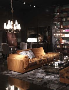 8a8fe4f1acaea Create a sumptuous library with the Roberto Cavalli Home Interiors range  from Kings of Chelsea www