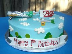 Susana's Cakes: Flying Aces Birthday Cake