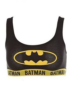 DC Comics Batman Sports Bra - 300315 Saw this at urban outfitters. Want it so bad.
