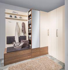 Create a Beautiful Entryway in Your Home Hallway Storage, Closet Storage, Locker Storage, Home Interior, Interior Design, Garage Design, Entrance Hall, Outdoor Storage, Mudroom
