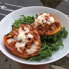 turkey stuffed peppers / the body coach