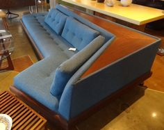 Adrian Pearsall Sofa  http://www.retroinferno.com/ Bond ski chalet meets seventies london gangster!!