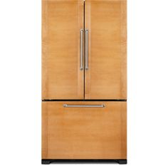 Buy the JennAir Panel Ready Direct. Shop for the JennAir Panel Ready 36 Inch Wide Cu. Counter Depth French Door Refrigerator and save. Panel Ready Refrigerator, Refrigerator Cabinet, Counter Depth Refrigerator, Bottom Freezer Refrigerator, French Door Refrigerator, Kitchen Cabinetry, Kitchen Appliances, Kitchens, Cabinets