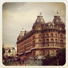 Scarborough - Vintage English Seaside Town - The Grand Hotel.