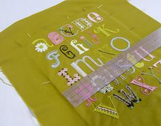 Framing Embroidery Tutorial via Posie: Rosy Little Things
