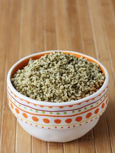 Thyme and turmeric couscous
