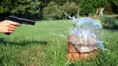 Nikon D3200: 60fps Slow Motion Video Test Shooting Water Edition