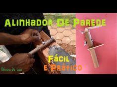 ALINHADOR DE PAREDE - Oficina Do Luis - YouTube