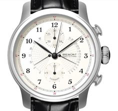 Bremont Victory Watch - ach mechanical retrograde watch will be made with original parts of HMS Victory built into it.