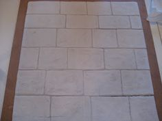 Helpful hints for my Das clay kitchen tiles