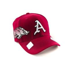 Arkansas Razorbacks Hat http://shop.crackerbarrel.com/Arkansas-Razorbacks-Hat/dp/B008EMIQTS