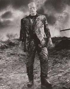"Frankenstein~Boris Karloff~Horror~Photo~Personality Poster 16"" x  20"""