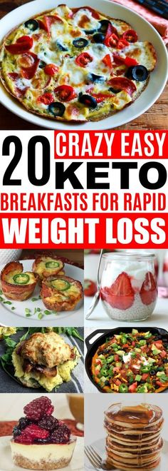 Keto Breakfast Recipes, #ketorecipes