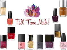 Transitioning Hues from Summer to Fall via Glamour Playground.
