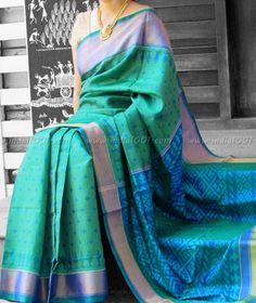 Stunning Woven Patola Silk Saree Indian Attire, Indian Wear, Indian Outfits, Kalamkari Saree, Silk Sarees, India Fashion, Ethnic Fashion, Beautiful Saree, Beautiful Outfits