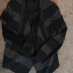 BCBG jacket Flawless BCBG jacket...longer in front...pairs perfectly with jeans or trousers....fantastic condition BCBGMaxAzria Jackets & Coats