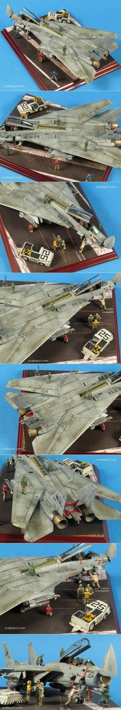 FineMolds 1:72 F-14D VF-31 Tomcatters OIF