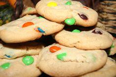 M&M Cookies  One dozen homemade edible gift by CustomCookiesbygigi
