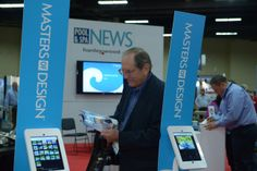 Pool & Spa News shared their technology with attendees in need of a social media fix.