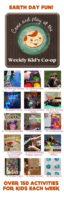 {Weekend Ideas} List of great family focused activities for the weekend. There seems to be a good earth day focus being shared too: http://letslassothemoon.com/2012/04/13/happiness-revealed/ What are you most excited about this weekend?