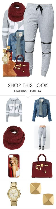 """Untitled #1443"" by power-beauty ❤ liked on Polyvore featuring moda, Sisters Point, Fat Face, Topshop, LA: Hearts, Hermès, Michael Kors, Vince Camuto y UGG Australia"
