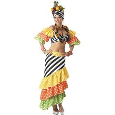 Adult Carmen Miranda Costume