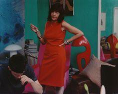 Tina Barney-'The Red Sheath'- 2001 -Chromogenic Print