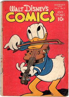 A cover gallery for the comic book Walt Disney's Comics and Stories Vintage Comic Books, Vintage Cartoon, Vintage Comics, Vintage Disney, Old Cartoons, Classic Cartoons, Disney Duck, Disney Mickey, Archie Comics