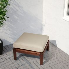 IKEA offers everything from living room furniture to mattresses and bedroom furniture so that you can design your life at home. Check out our furniture and home furnishings! Palette Couch, Ikea Applaro, Outdoor Seat Cushions, Wood Supply, Seat Pads, Outdoor Furniture, Outdoor Decor, Beige, Wood Species