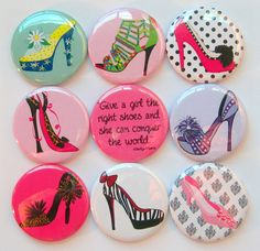 Shoe Magnets by Stuck Together, $14.00
