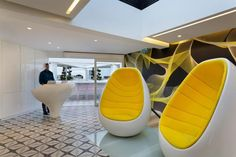 Futuristic Lighting, Futuristic Home, Futuristic Architecture, Architecture Design, Interior Design Gallery, Contemporary Interior Design, Office Interior Design, Tel Aviv, Visual Merchandising