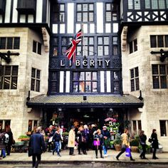 Liberty, London! I try to go here at least once a month. Love it!
