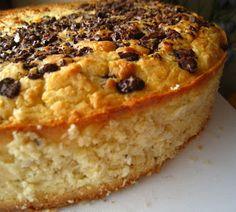 Szybkie gotowanie: Białe ciasto fasolowe z wiórkami kokosowymi i czek...
