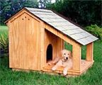 Free Dog House and Dog Kennel Plans | DIY
