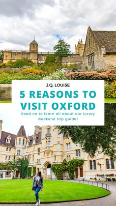 Oxford, home to Oxford University, is located about an hour and a half Northwest of London but is a world away from the hustle and bustle of the capital city. Oxford definitely deserves a visit on your next trip to the UK. Whether it is for a day or a week, click here for 5 reasons why you should visit Oxford! #travel #UKtravel #England | Oxford England University building | Things to do in Oxford England | Best places to visit in UK | things to do in England | Visiting England tips | Travel Around Europe, Europe Travel Tips, European Travel, Oxford England, England Uk, Road Trip Europe, Uk Europe, Visit Oxford, University In England