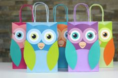 Owl favor bag and thank you tag в 2019 г. Owl Themed Parties, Owl Parties, Owl Birthday Parties, 1st Birthday Themes, 1st Birthday Girls, Party Themes, Party Ideas, Owl Party Favors, Party Favor Bags