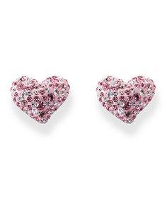 Swarovsky Heart Earrings On My Birthday Wish List