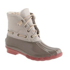 Sperry Top-Sider for J.Crew saltwater boots