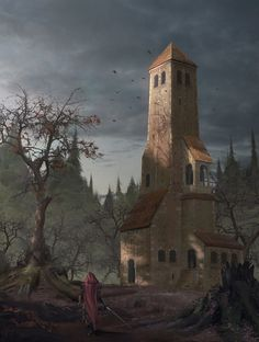 ArtStation - Wizard's Tower , Jonas Hassibi
