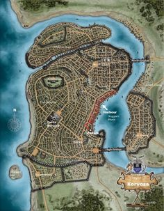 A quick map of the city of Northgate  ruling city in The Landing in     A quick map of the city of Northgate  ruling city in The Landing in the  High Marches  This was mainly a practice map since I ve got a fairly limite