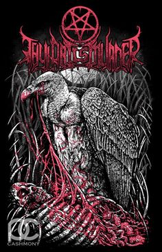 Thy Art Is Murder! This is my favorite metal t-shirt that I have ever bought. Brutal.