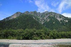 徳澤から穂高連峰