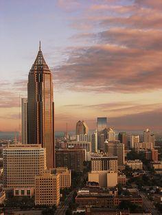 """*Atlanta, Georgia* At Dawn""  |Photo by Yell Ow! - October 8 2006 - Atlanta, Georgia|"