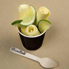 L'iceRoll, les rouleaux de crème glacée qui vont rafraîchir l'été