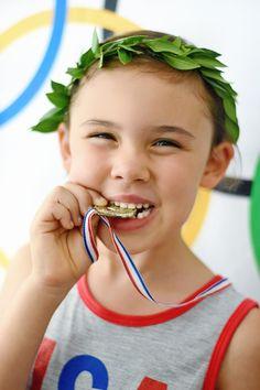 Olympics-Themed Kids