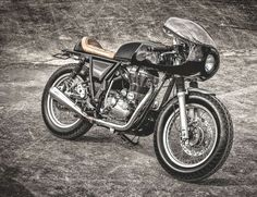 Royal Enfield Continental GT 535 Cafe Racer - Zeus custom #motorcycles #caferacer #motos | caferacerpasion.com